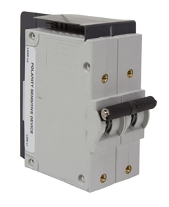 OutBack Power PNL-75-DC-RT > FLEXware ICS Plus Relay-Trip Breaker, 75 Amp 300 VDC 1-Pole Panel Mount Breaker - Remote Trip