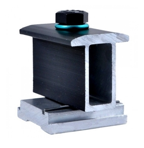 "ProSolar C250IMC-1B-G > 2.50"" Bonding Mid Clamp - Black Finish - Quantity 1"