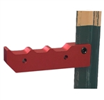 ProSolar A-GT Pipe Support > GroundTrac® EZ Pipe Support - Anodized Aluminum pipe supports - Box of 12