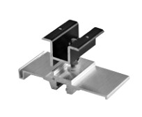 "Quick Mount PV Quick Rack - 2"" 40mm Panel Clamp Assembly Set - QMQR-CP40.2 B 24"