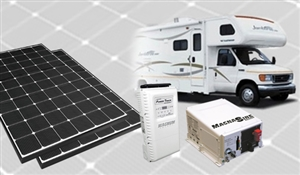 RV EcoExplorer ULTRA LG > 750W RV Solar Power DIY Kit