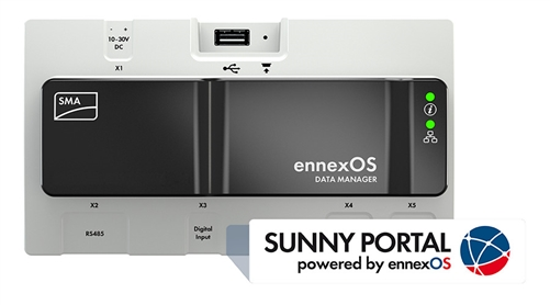 SMA EDMM-US-10 > Datamanager M - powered by ennexOS - Speedwire  Communication