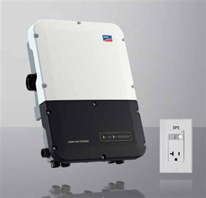 SMA SBS Sunny Boy Storage 5.0-US-10 > 5000 Watt 208 / 240 Volt Single Phase Grid-Tie Battery Storage Inverter - Integrated DC Disconnect