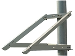 "Solartech Power RAC-PMS865 - Single Module Side of 4"" Pole Mount"