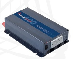 Samlex SA-600R-124 - 600 Watt 24 Volt Inverter - Pure Sine Wave