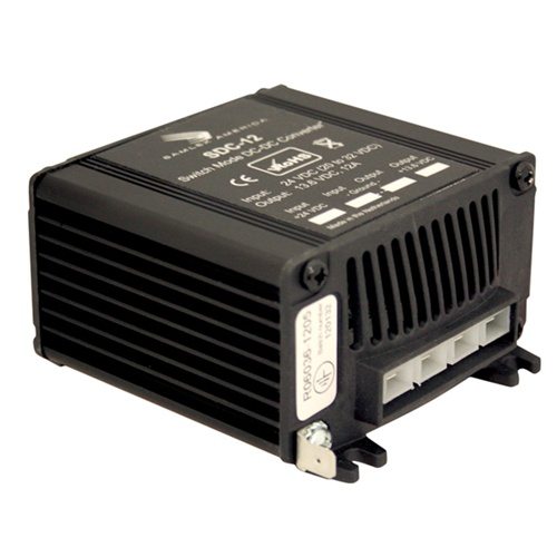 12 Volt Converter >> Samlex Sdc 12 12 Amp 24 12 Volt Dc Dc Converter