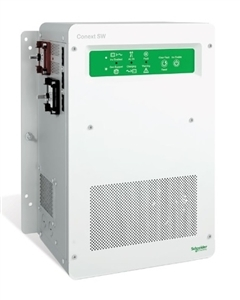 Schneider Electric Conext SW 4048 NA - RNW8654048 > 4000 W 48 VDC 120 / 240 VAC Off-Grid Pure Sine Wave Battery Inverter
