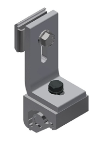 SnapNrack 242-05157 > S100 Wide Base Seam Clamp with L-Foot and Lock
