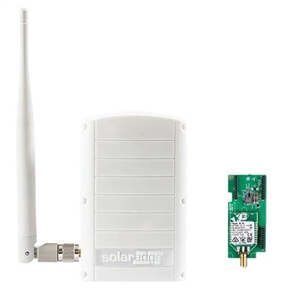 SolarEdge SE-ZBSLV-B-S1-NA > ZigBee to Ethernet Gateway Kit with Extended Range Antenna & 1 Slave Module  ZigBee Plug-in with SetApp Configuration, Use with SetApp Inverters only