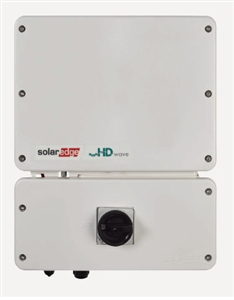 SolarEdge HD-Wave SE7600H-US000NNC2 > 7.6kW 240 Volt AC Single Phase Grid-Tie Non-Isolated String Inverter with Revenue Grade Meter