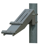 "Solartech RAC-M-530 Universal single arm side of pole mount for a (2"" pole)"