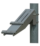 "Solartech RAC-M-532 Universal single arm side of pole mount for a (2"" pole)"