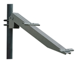 "Solartech RAC-M685-B > Universal single arm side of pole mount for a (2"" pole) - for single small module"