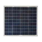 Solartech SPC055P > 55 Watt Eco-Line Off-Grid Solar Panel with 3 ft MC4 Cables - non UL