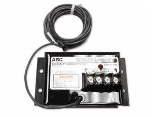 Specialty Concepts ASC-12/8-AF > 8 Amp 12 Volt PWM Charge Controller > Includes Temp Compensation, Adjustability