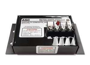 Specialty Concepts ASC-12/8-F - 8 Amp 12 Volt PWM Charge Controller Adjustable Set Points