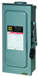 Square D 60 Amp 120/240 VAC Non-Fusible Safety Switch - DU322RB