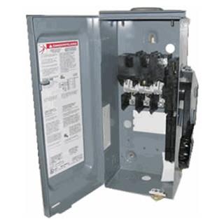 square d hu361rb 60 amp 600 vdc safety switch 3 pole