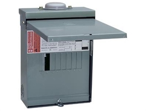 Square D QO112L125GRB > QO Load Center, 12/12, 125 Amp 120/240VAC, NEMA 3R - Single Phase