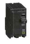 Schneider Electric / SquareD QO220 > QO Plug-On Circuit Breaker - 20A 120/240 V - 10kA - Plug-In Breaker