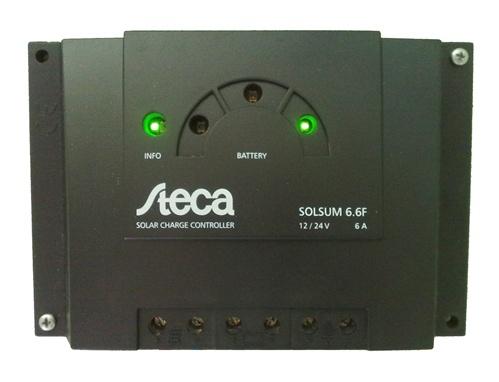 Steca Solsum 6 6f 6 Amp 12 24 Volt Pwm Charge Controller