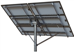 Tamarack Solar Top of Pole Mount for Six Solar Panels - Landscape - LTP-LCR/124HW