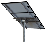 Tamarack Solar STP-LCR/120R > Top of Pole Mount for Three Solar Panels - Landscape