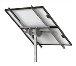 Tamarack Solar STP-LCR/82R > Top of Pole Mount for Two Solar Panels - Landscape