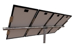 Tamarack Solar UNI-PGRM/4P1 > Top of Pole Mount for Three Solar Panels