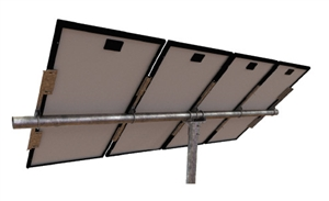 Tamarack Solar UNI-PGRM/5P1 > Top of Pole Mount for Five Solar Panels