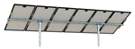 Tamarack Solar UNI-PGRM/6P2 > Top of Pole Mount for Six Solar Panels - 2 Vertical Poles