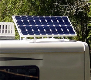 "Tamarack Solar UNI-RV40 > Solar Panel Tilt-Up RV Mount with 40"" rails"