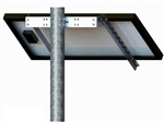 Tamarack Solar UNI-SP/01A > Side of Pole Mount for One 27.5 Inch Solar Panel