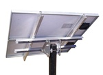 Tamarack Solar UNI-TP/02A > Top of Pole Mount for Two 55 Inch Solar Panels