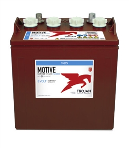 Trojan Battery Motive T-875 > 8 Volt 170 Amp Hour Deep-Cycle Flooded Battery