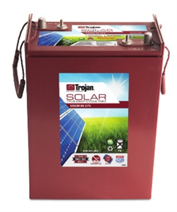 Trojan Battery SAGM 08 165 > 8 Volt 165 Amp Hour Solar AGM Battery