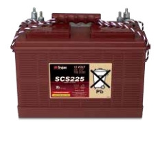 Trojan Battery SCS225 > 12V 130Ah Commercial Deep Cycle