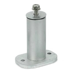 Unirac 004400M > 4 Inch 2-Piece Standoff - Mill Finish