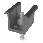 UniRac 302030M > SolarMount Pro Series Universal Mid Clamp - Preassembled, Integrated Bonding - 30-51mm