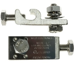 Wiley Electronics Grounding Lug for Schuko > WEEBL-8.0