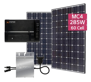 Summer Sun Promo - 6.8 kW Residential Solar EcoKIT - LG & Enphase Promo - Freight Delivery Included - Continental U.S. Only