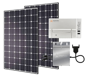 EcoDirect Residential Solar Starter Kit - 1.12 kW Residential Solar EcoKIT - Hyundai & Enphase Promo - Freight Delivery Included - Continental U.S. Only